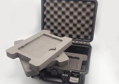 Plateau mousse PE pour valise Jumbo Case 375