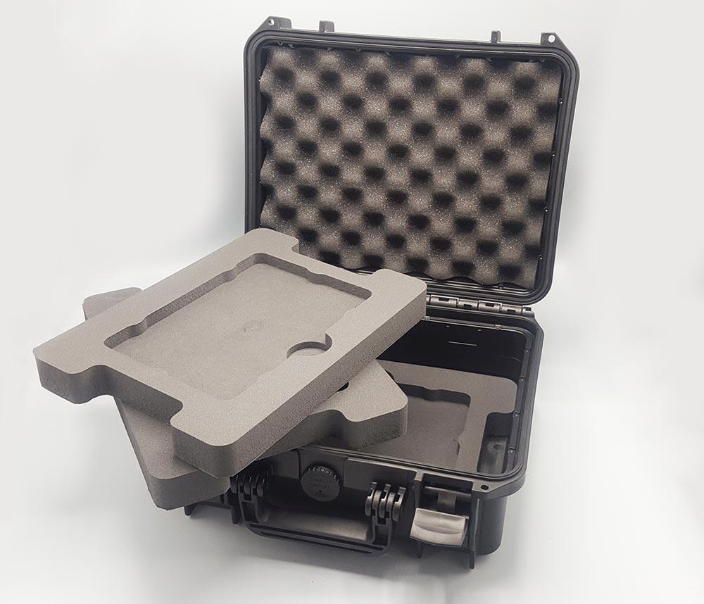 plateau mousse PE pour valise technique 375