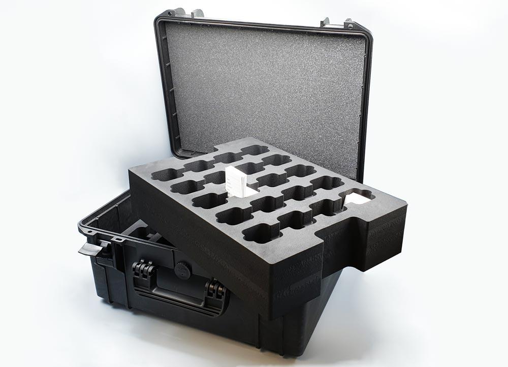 Valise Jumbo Case M549 équipée de mousse découpée