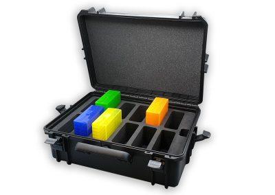 Valise présentation jumbo Case S610 avec calage mousse